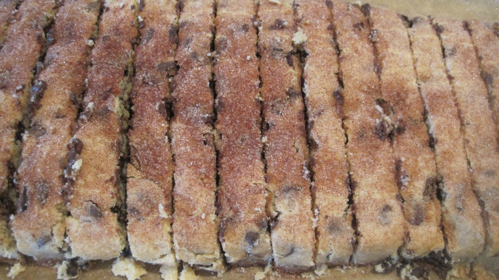 Chocolate Chip Mandelbrot and Almond Biscotti (3/3)