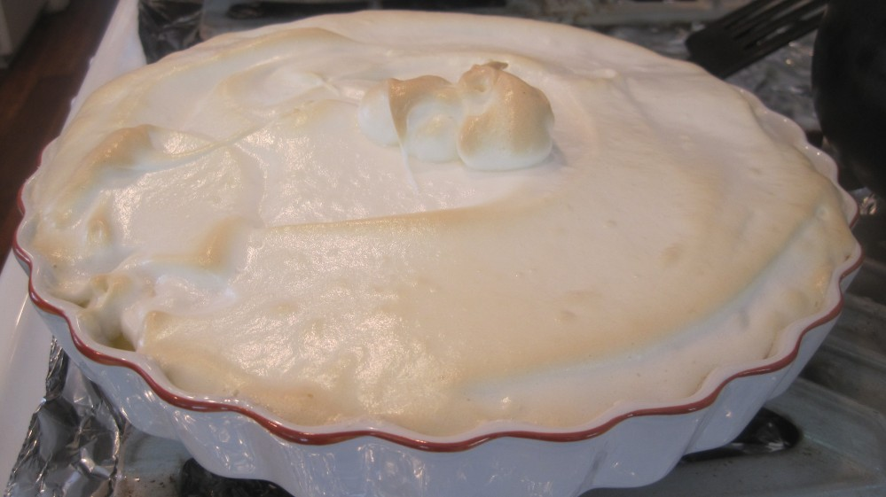Passover Lemon Meringue Pie